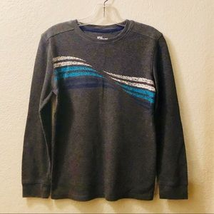 Epic Threads long sleeves thermal tee grey Size L